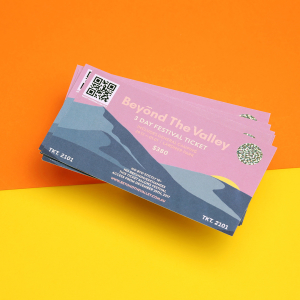 Coloured Tickets