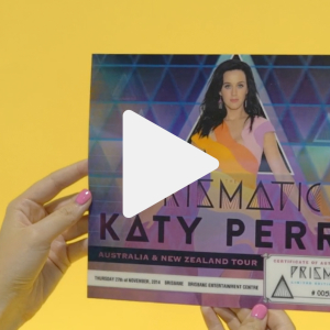 3D Katy Perry